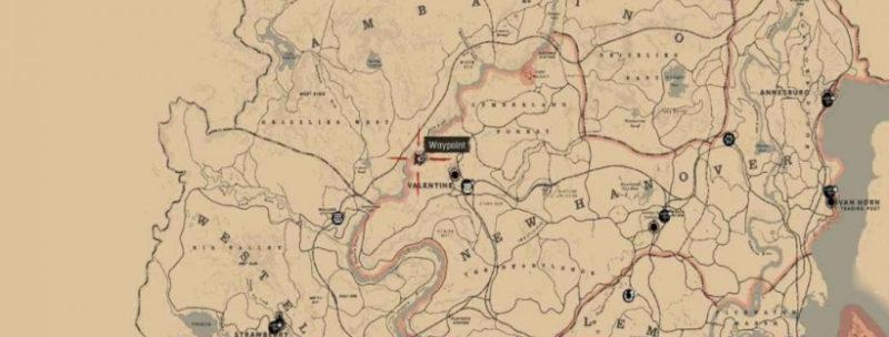 кости динозавров в Red Dead Redemption 30