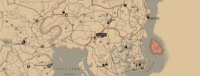 кости динозавров в Red Dead Redemption 7