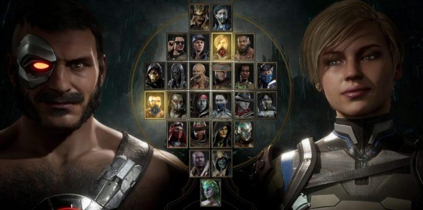 Персонажи Mortal Kombat 11